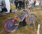 Image: Decorated bicycle Oaks Spring Fair